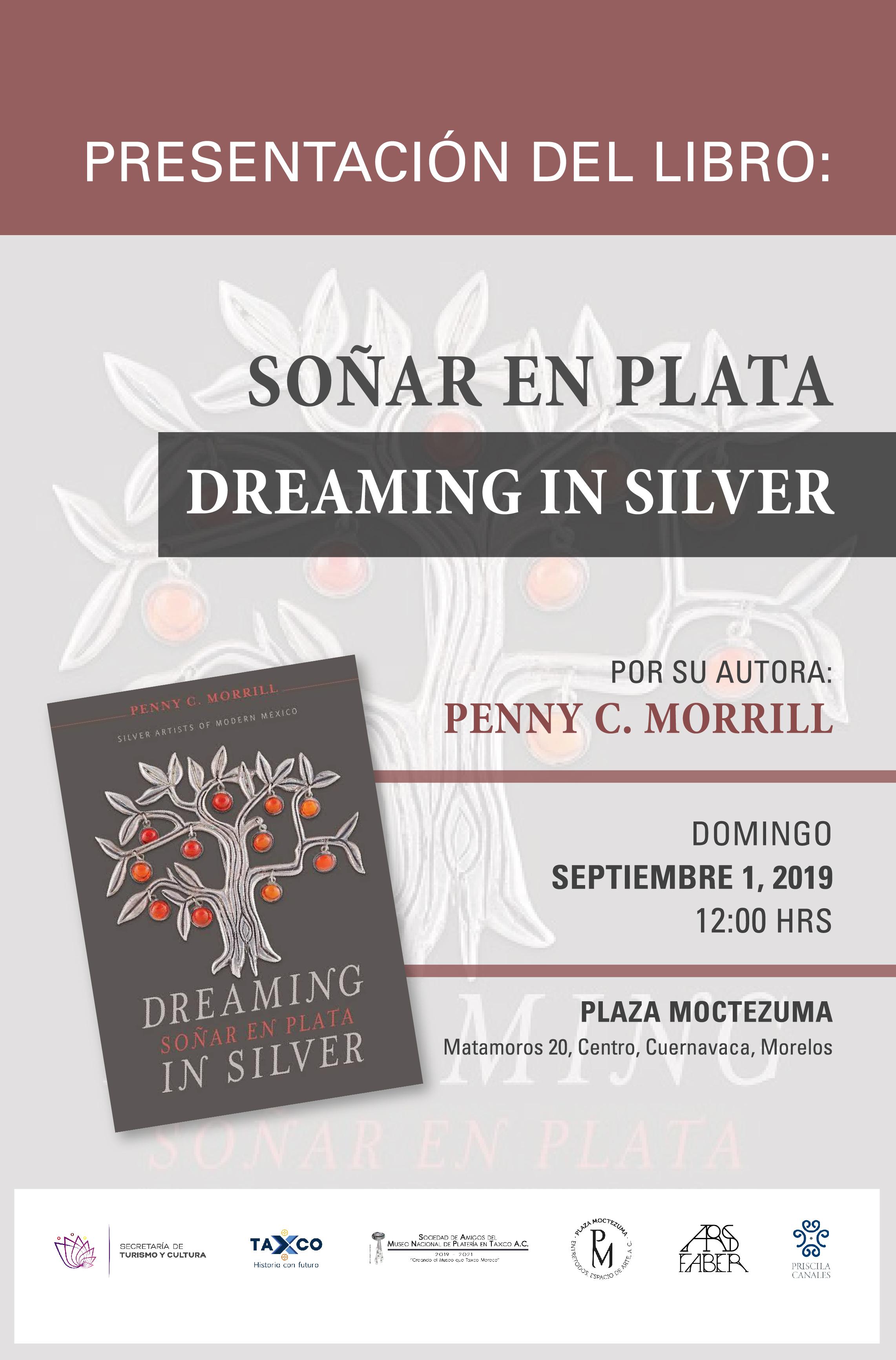 """Presentación del libro """"Soñar en Plata"""" en Cuernavaca"""